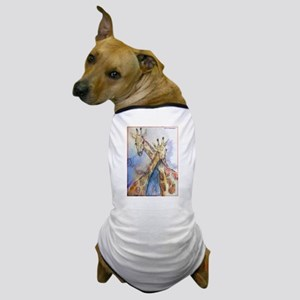 Giraffes, wildlife art, Dog T-Shirt